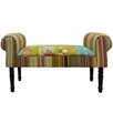 Techstyle Patchwork Upholstered Bedroom Bench
