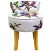 House Additions Low Back Stool