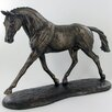 Castleton Home Animal Trotting Warmblood Horse Running Figurine