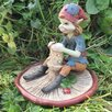 Castleton Home Pixie Moulding A Mushroom Outdoor Decorative Garden Statue