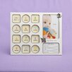 Fashion Craft My First Year Baby Photo Collage Picture Frame