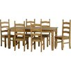 Andover Mills Corona Dining Set with 6 Chairs
