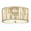 Hinkley Gemma 3 Light Flush Ceiling Light