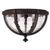Feiss Regent Court 2 Light Outdoor Flush Mount