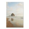 Trademark Fine Art Haystack Rock Oregon by Ariane Moshayedi Photographic Print on Wrapped Canvas