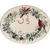 Lenox Winter Greetings Oval Platter