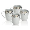 Sabichi Gatsby 4 Piece Mug Set (Set of 4)