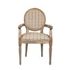 Derry's Louis Chequered Carver Dining Chair