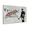 Urban Designs 'Hope' by Banksy Wall Art on Canvas