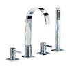 Mayfair Brassware Wave Bath Shower Mixer