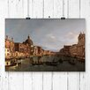 Big Box Art 'Grand Canal, Venice' by Giovanni Canaletto Painting Print
