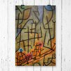 Big Box Art 'Conquest of the Mountain' by Paul Klee Painting Print