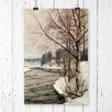 Big Box Art 'Birches in Early Spring' by Victor Westerholm Painting Print