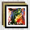 Big Box Art Voegel by Franz Marc Framed Painting Print