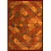 Ivy Bronx Colfax Brown/Red Area Rug
