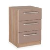 Hazelwood Home Keighley 3 Drawer Bedside Chest