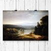 Big Box Art 'River View with Hunters and Dogs' by Thomas Doughty Graphic Art