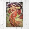 Big Box Art 'Dance' by Alphonse Mucha Graphic art
