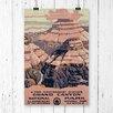 Big Box Art 'Vintage WPA Grand Canyon' Vintage Advertisement