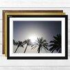 Big Box Art 'Spanish Palm Trees' Framed Photographic Print