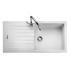 Rangemaster Sink & Taps Andesite 100cm x 50cm Igneous Bowl Kitchen Sink