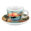 Seltmann Weiden V.I.P Tarangire Cappuccino Cup and Saucer