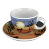 Seltmann Weiden V.I.P Serengeti Cappuccino Cup and Saucer
