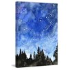 Marmont Hill 'Galaxy' by Rachel Byler Painting Print on Wrapped Canvas