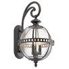 Kichler Halleron 3 Light Outdoor Wall Lantern