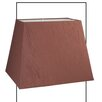 Castleton Home 41cm Premium Faux Silk Rectangular Lamp Shade
