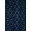 Parwis Piper Hand-Woven Blue Area Rug