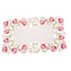 Manor Luxe Lush Rosette Embroidered Cutwork Placemat (Set of 4)