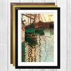 Big Box Art 'Boats in Port' by Egon Schiele Framed Painting Print