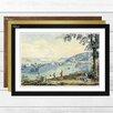 Big Box Art 'Aberli Painting' by Johann Ludwig Framed Painting Print
