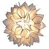 Naeve Leuchten Lotus 1 Light Semi Flush Mount