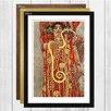 Big Box Art Hygeia by Gustav Klimt Framed Painting Print