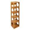 Woodluv Bamboo 5 Wine Bottle Rack