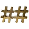 Mercer41™ Hashtag Bookend (Set of 2)