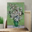 Big Box Art 'White Roses' by Vincent van Gogh Painting Print on Canvas