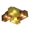 Wero Design Eris 4 Light Semi Flush Mount