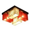 Wero Design Vitoria 4 Light Semi Flush Mount