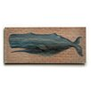 Breakwater Bay 'Whale' Poster On Wood