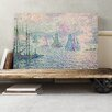 Big Box Art 'Rotterdam the Meuse' by Paul Signac Painting Print on Canvas