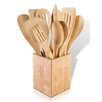 Modernhome 12 Piece Bamboo Kitchen Utensil Set