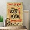 Big Box Art WPA Cricket on the Hearth Vintage Advertisement on Canvas