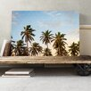 Big Box Art Tropical Palm Trees Photographic Print on Canvas