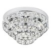 Endon Lighting 4 Light Crystal Chandelier
