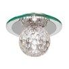 Endon Lighting Tarota 1 Light Flush Ceiling Light