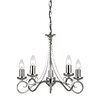 Endon Lighting Magdet 5 Hilal Light Candle-Style Chandelier