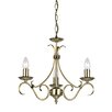 Endon Lighting 3 Light Grande Candle Chandelier
